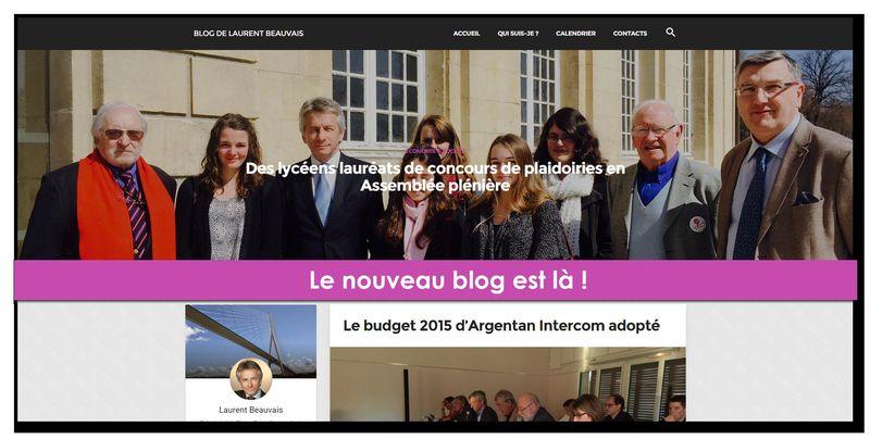 Nouveau blog !